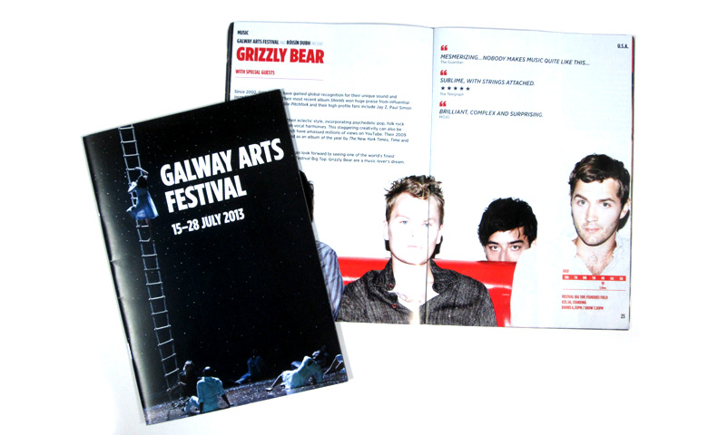 Programme for Galway Arts Festival