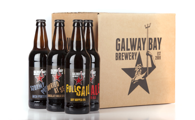 Packaging for Galway Bay Brewery